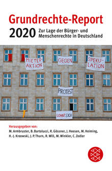 Coverbild Grundrechte-Report 2020
